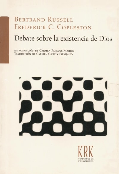 Debate sobre la existencia de dios  - Bertrand Russell - 9788483674000
