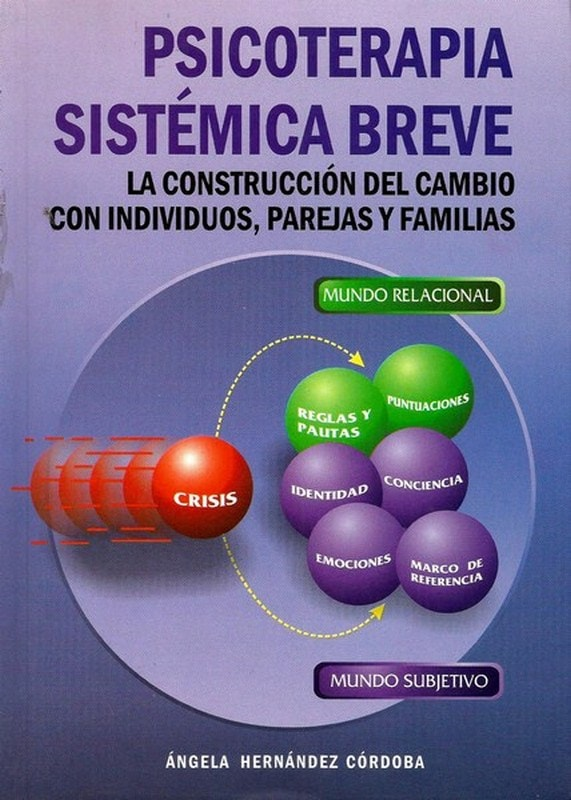 Libro: Psicoterapia sistémica breve - Autor: Angela Hernandez Cordoba - Isbn: 9589482430