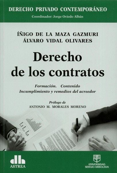 Libro: Derecho de los contratos - Autor: íñigo de la Maza Gazmuri - Isbn: 9789588987477