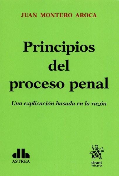 Libro: Principios del proceso penal. Una explicación basada en la razón - Autor: Juan Montero Aroca - Isbn: 9789877061512