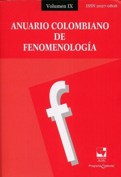 Libro: Anuario colombiano de fenomenología volumen ix - Autor: Julio César Vargas Bejarano - Isbn: 20270808