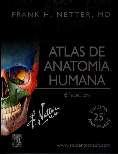 Libro: Atlas de anatomía humana | Autor: Frank H. Netter, Md ...