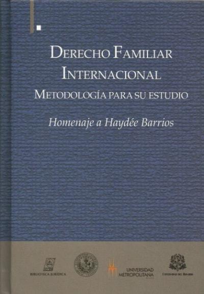Libro: Derecho familiar internacional.  - Autor: Víctor Hugo Guerra Hernández - Isbn: 9789587311198