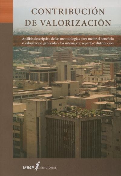 Libro: Contribución de valorización - Autor: 2713-3271-oscar A. Borrero Ochoa - Isbn: 9789587341096