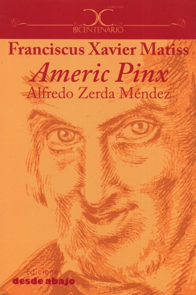 Libro: Franciscus xavier matiss. Americ pinx - Autor: Alfredo Zerda Méndez - Isbn: 9789588926124