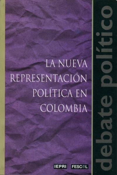 Libro: La nueva representación política en Colombia - Autor: Jesús Martín Barbero - Isbn: 9589272800