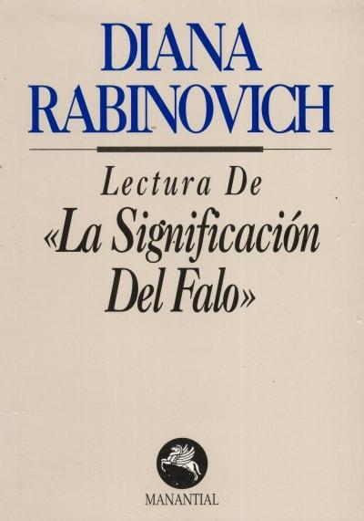 Libro: Lectura de la significación del falo - Autor: Diana Rabinovich - Isbn: 9789509515932