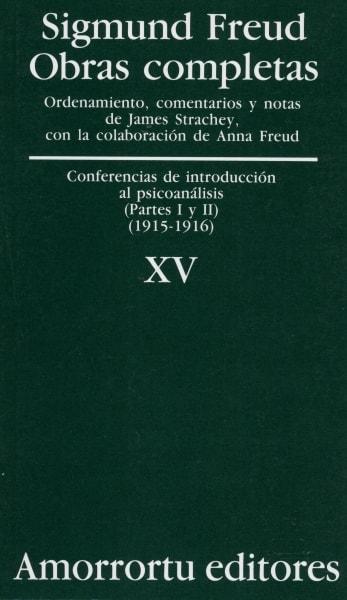 Libro: Conferencias de introducción al psicoanálisis (partes I y II) (1915-1916) - Autor: Sigmund Freud - Isbn: 950518591X