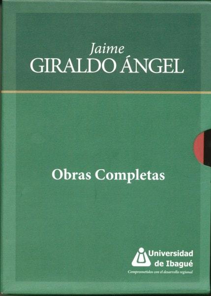 Obras completas de jaime giraldo ángel 4 tomos - Jaime Giraldo ángel - 9789587540635