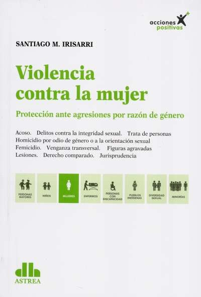 Libro: Violencia contra la mujer - Autor: Santiago M. Irisarri - Isbn: 9789877062342