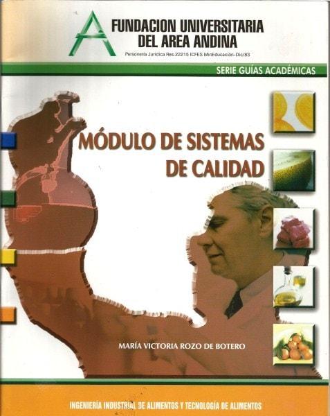 Modulo de sistemas de calidad - María Victoria Rozo de Botero - 9589766021