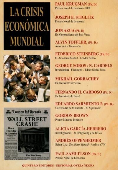 Libro: La crisis económica mundial - Autor: Varios - Isbn: 9580611141