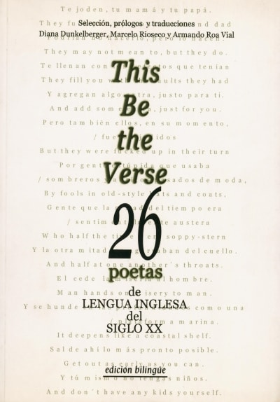 This be the verse 26 poetas