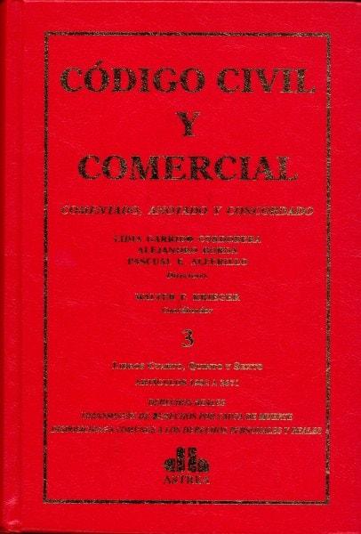 Código civil y comercial tomo iii. Comentado, anotado y concordado - Lidia Garrido Cordobera - 9789877060638