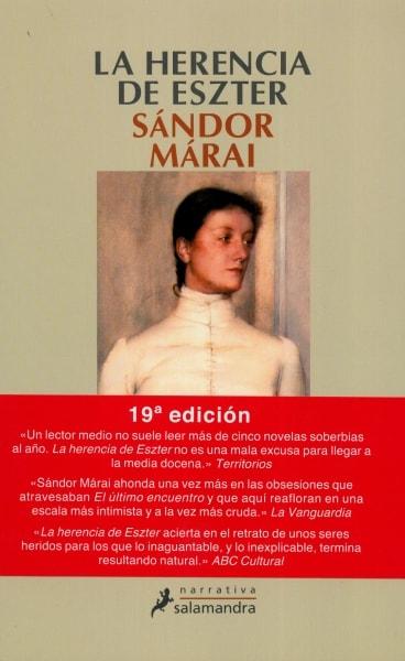 Libro: La herencia de eszter | Autor: Sándor Márai | Isbn: 9788478885671