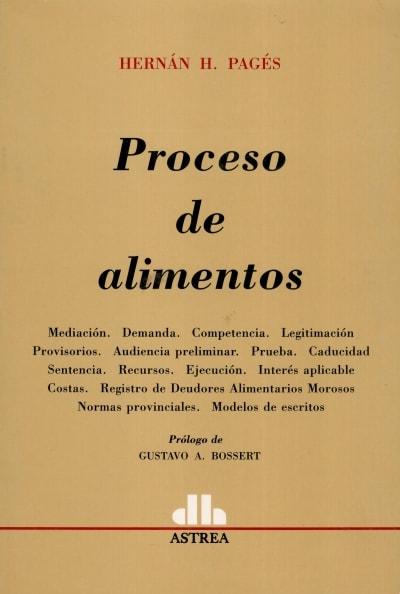 Libro: Proceso de alimentos   Autor: Hernán H. Pagés   Isbn: 9789505088744
