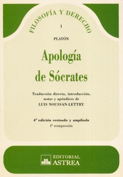Libro: Apología de sócrates | Autor: Platón | Isbn: 9505082398