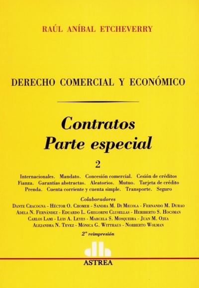 Libro: Contratos. Parte especial 2 | Autor: Raúl Aníbal Etcheverry | Isbn: 9505083360