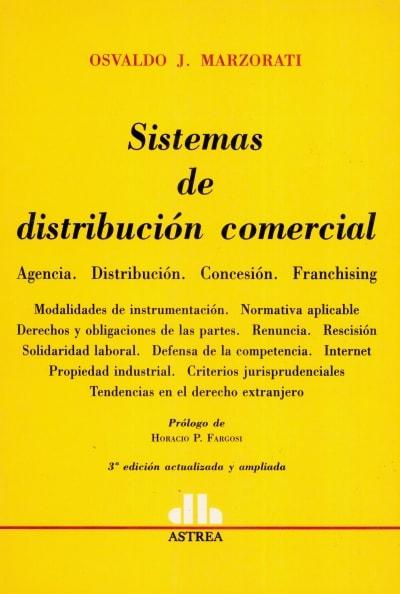 Libro: Sistemas de distribución comercial   Autor: Osvaldo J. Mazorati   Isbn: 9789505088157