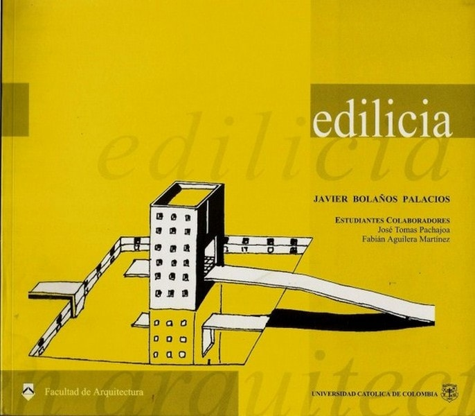 Edilicia - Javier Bolaños Palacios - 9589761771