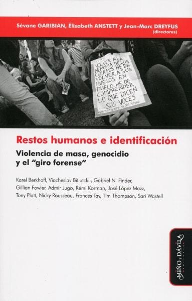 Libro: Restos humanos e identificación | Autor: Sévane Garibian | Isbn: 9788416467891