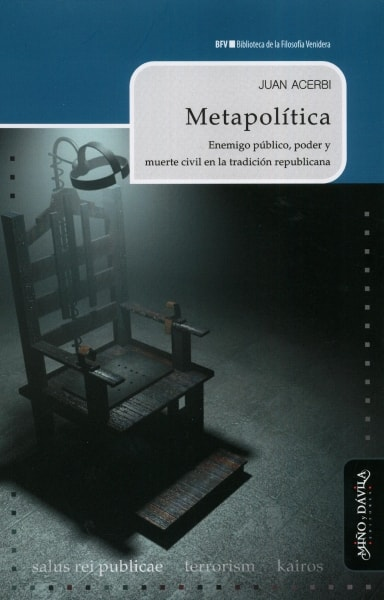 Libro: Metapolítica | Autor: Juan Acerbi | Isbn: 9788417133313