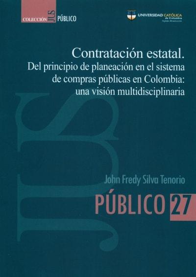 Libro: Contratación estatal | Autor: John Fredy Silva Tenorio | Isbn: 9585456457