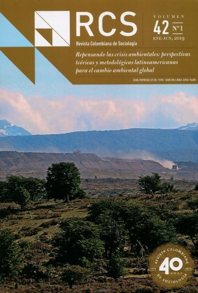 Revista Colombiana de Sociología Vol. 42 # 1 Ene - Jun, 2019