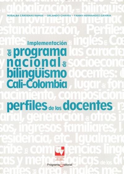 Libro: Implementación del programa nacional de bilingüismo Cali - Colombia | Autor: Rosalba Cárdenas Ramos | Isbn: 9789587654553