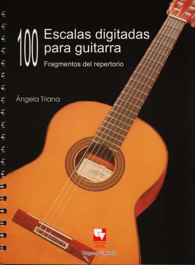 100 Escalas digitadas para guitarra