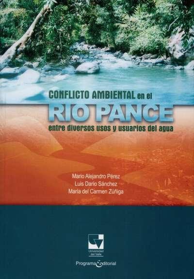 Libro: Conflicto ambiental en el río Pance | Autor: Mario Alejandro Pérez | Isbn: 9789587651348