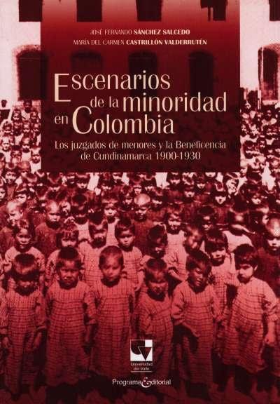 Libro: Escenarios de la minoridad en Colombia | Autor: José Fernando Sanchez Salcedo | Isbn: 9789587651324