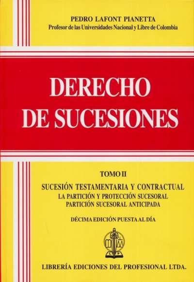 Derecho de sucesiones Tomo II