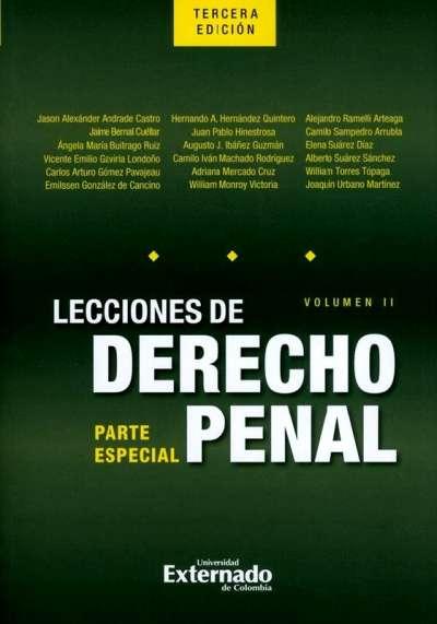 Libro: Lecciones de derecho penal. Vol. II | Autor: Varios Autores | Isbn: 9789587901276