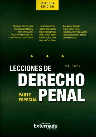 Lecciones de derecho penal. Vol. I