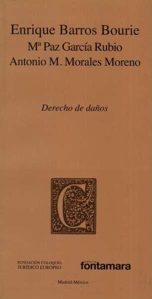 Libro: Derecho de daños | Autor: Enrique Barrios Bourie | Isbn: 9786078252404