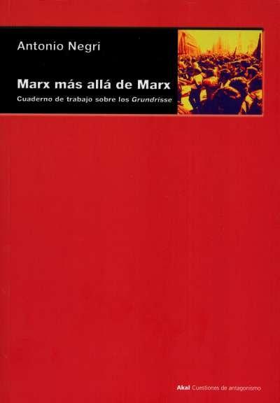 Libro: Marx más allá de Marx | Autor: Antonio Negri | Isbn: 9788446011477