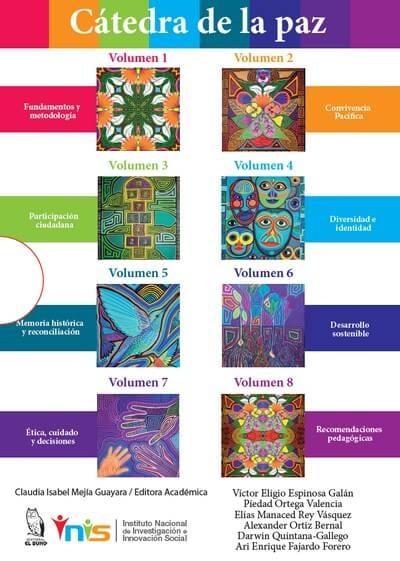 Libro: Cátedra de la paz. VIII volúmenes | Autor: Víctor Eligio Espinosa Galán | Isbn: 9789585682283