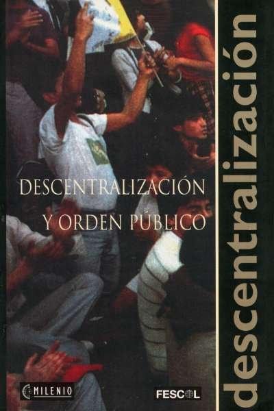 Libro: Descentralización y orden público | Autor: Néstor Raúl Correa | Isbn: 9589272762