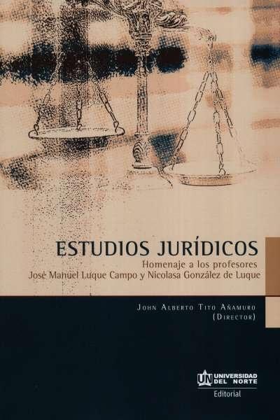 Libro: Estudios jurídicos | Autor: John Alberto Tito Añamuro | Isbn: 9789587891362