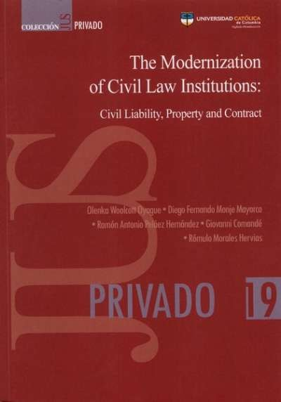The Modernization of Civil Law Institutions: Civil Liability,...