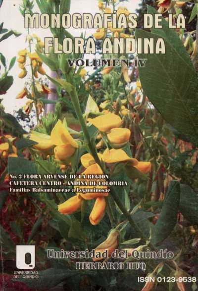 Libro: Monografías de la Flora Andina Vol. IV | Autor: María Cristina Vélez Nauer | Isbn: 01239538