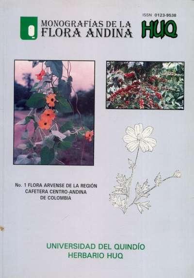 Libro: Monografías de la Flora Andina | Autor: María Cristina Vélez Nauer