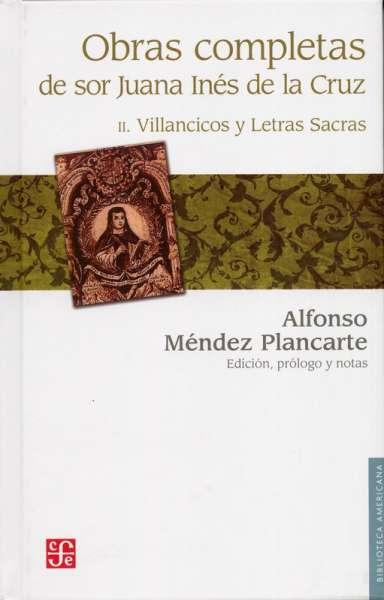 Obras completas de sor Juana Inés de la Cruz Tomo II