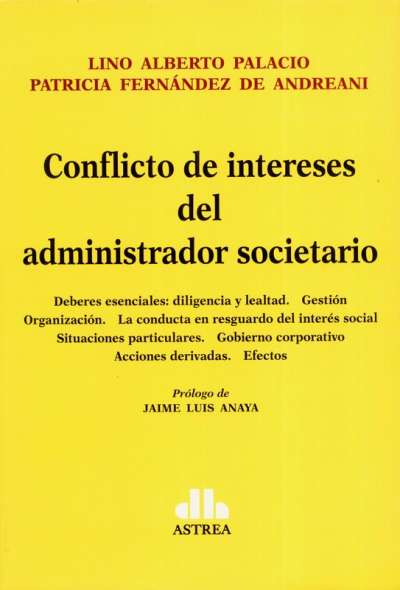 Conflicto de intereses del administrador societario