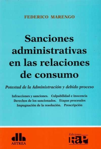 Sanciones administrativas en las relaciones de consumo