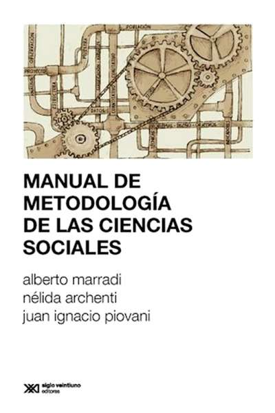 Manual de metodología de las ciencias sociales