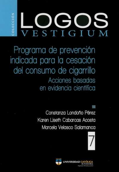 Programa de prevención indicada para la cesación del consumo de cigarrillo