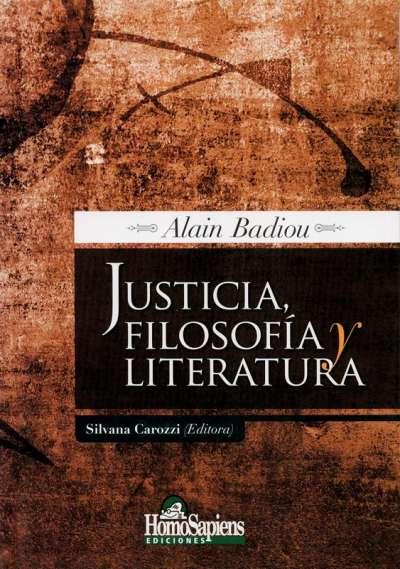 Justicia, filosofía y literatura