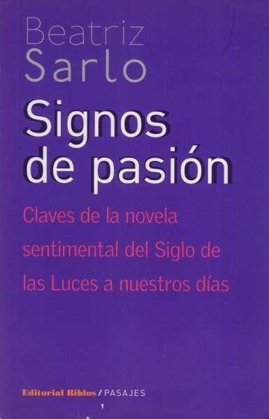 Signos de pasión